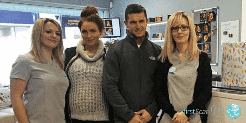 Amy Childs 4D Scan Window to the Womb