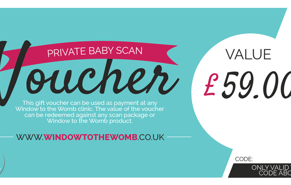 Baby Scan Gift Voucher Card