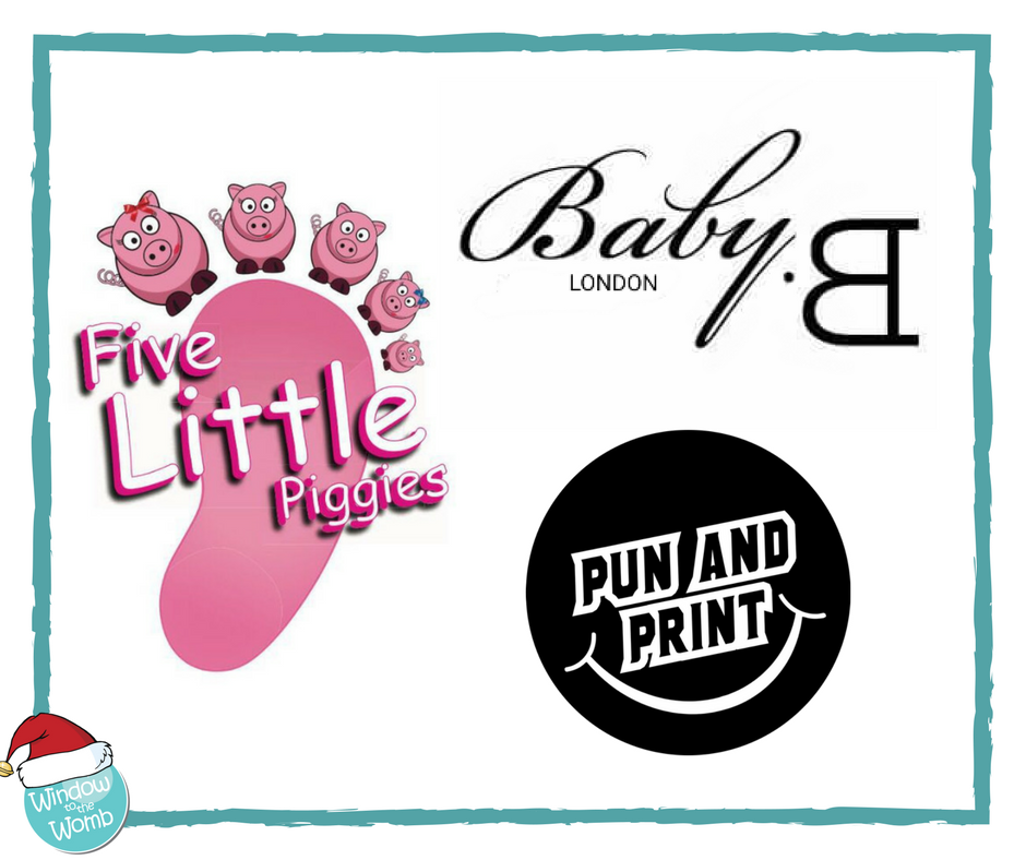 Five Little Piggies, Baby B London, Pun and Print