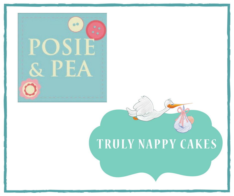 Posie & Pea and Truly Nappy Cakes
