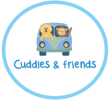 Cuddles & Friends Logo Window to the Womb