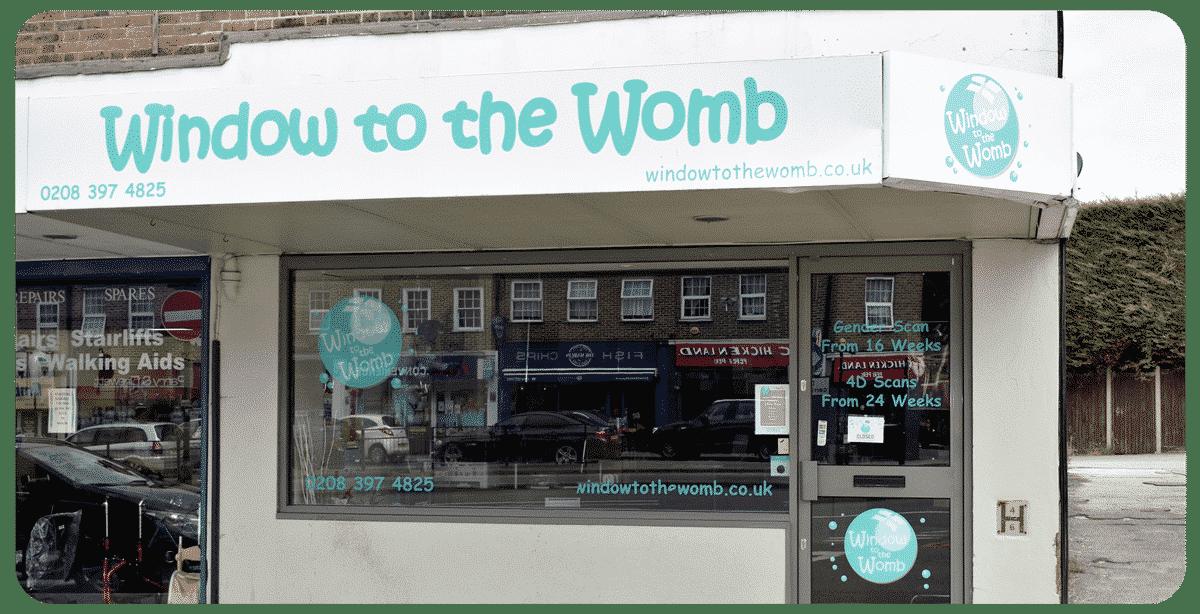 Window to the Womb Chessington Surrey